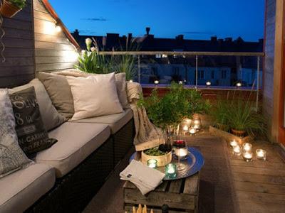 Sorprende decorando tu balcón o terraza con estos 7 sencillos y baratos trucos