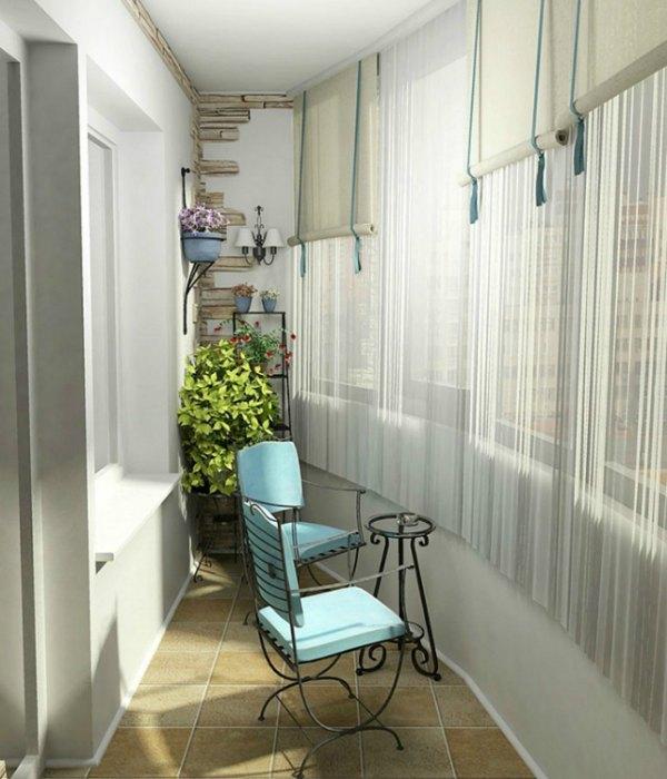 21 Ideas creativas para decorar pequeñas terrazas - Decoracion en el ...