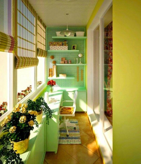 21 ideas creativas para decorar peque as terrazas - Como decorar una terraza pequena ...