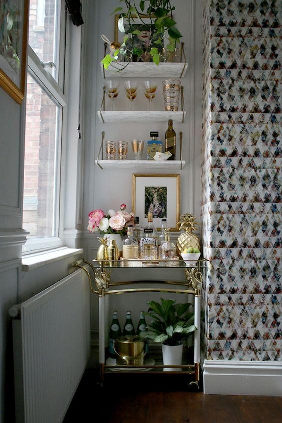 Cómo crear tu propio bar en casa + IDEAS reales - Decoracion en el hogar