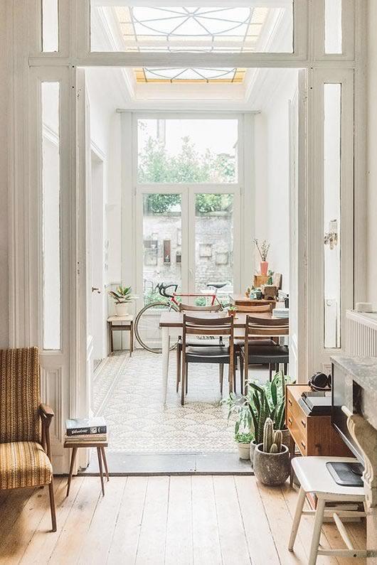 Ideas para decorar con plantas: entrada