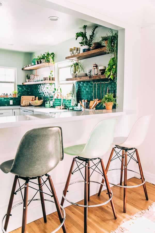 Ideas para decorar con plantas: la cocina