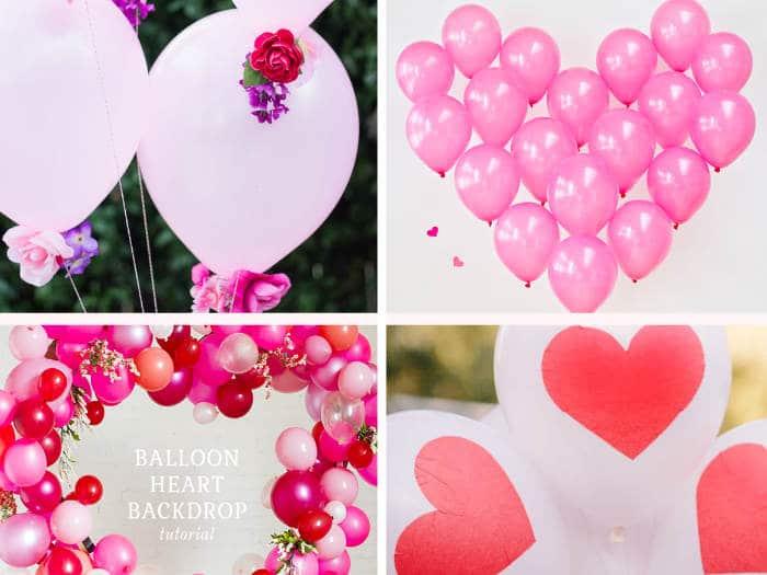 Ideas de decoraci n con globos para san valent n - Trucos de decoracion para el hogar ...