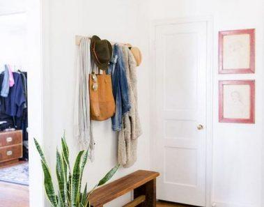 Recibidores con bancos: ideas geniales para decorar la entrada de casa