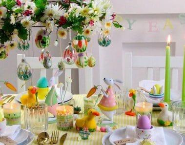 Cómo decorar la mesa de Pascua
