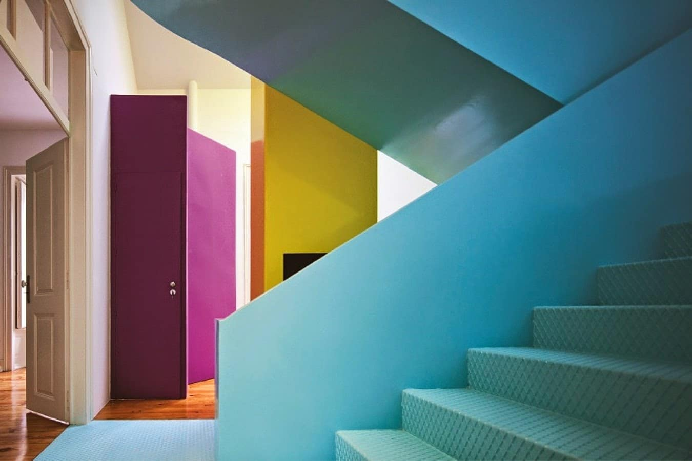 Tendencia ¡Color Block! - Interiorismo
