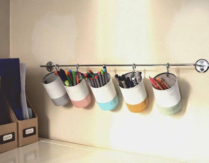 C mo mantener el escritorio ordenado interiorismo for Ideas para decorar escritorio
