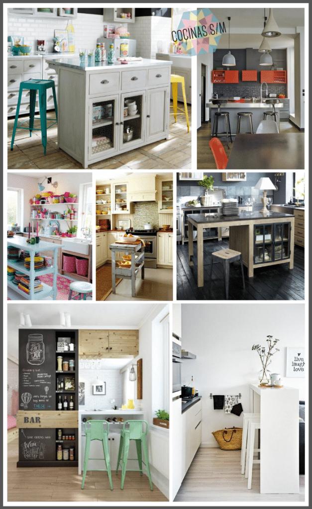 Una Isla en la Cocina - Interiorismo