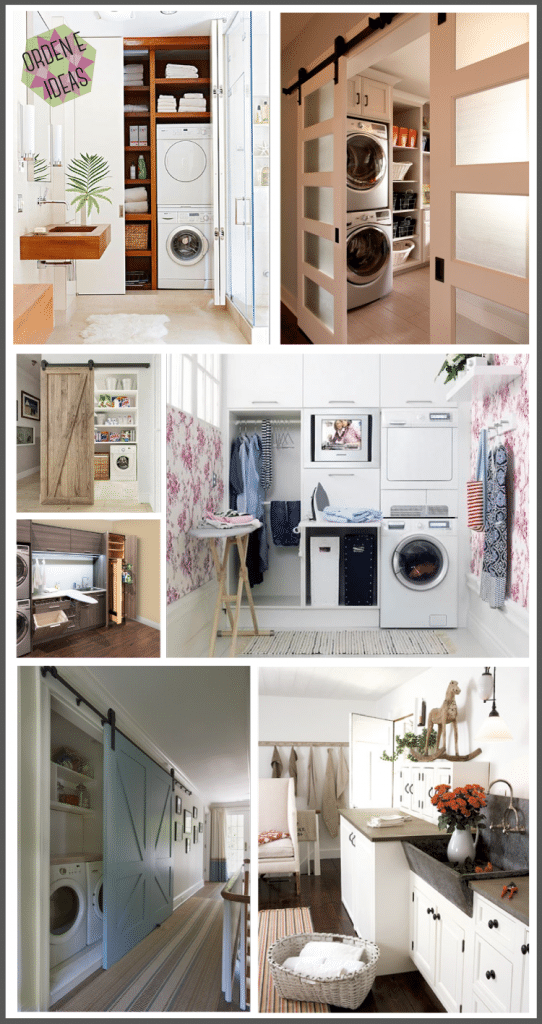 Trucos para tener el cuarto de lavado perfecto for Diseno de muebles para cuarto de lavado