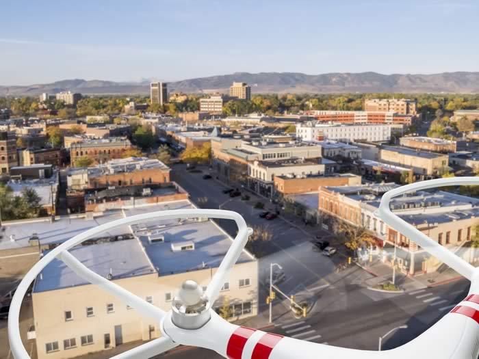 Drones sector inmuebles