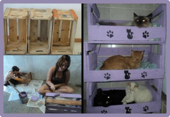 Hacer una cama reciclada para mascotas f cil todo mascotas for Busco una cama barata