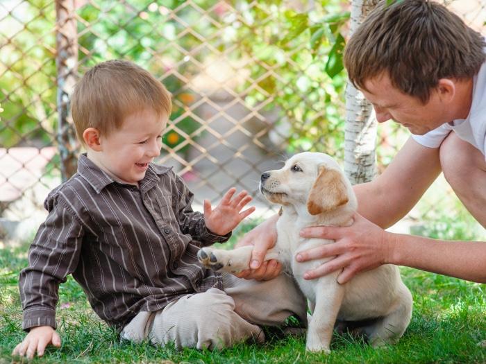 Beneficios niños y perros