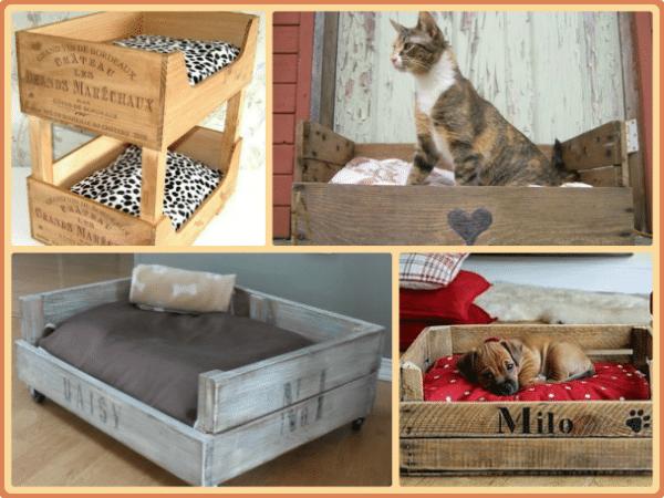 hacer una cama reciclada para mascotas fcil
