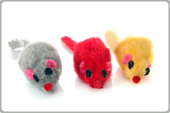 Ratones de pelo para gatos