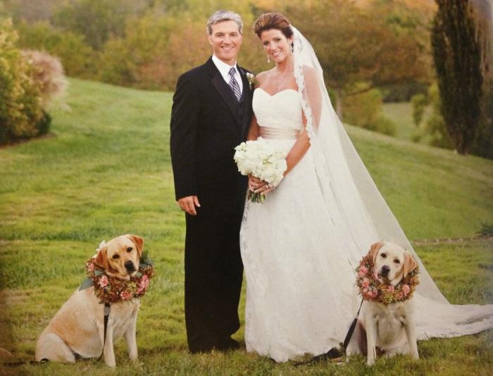 Perros en bodas todo el protagonismo para estos invitados peludos todo mascotas - Cosas para preparar una boda ...