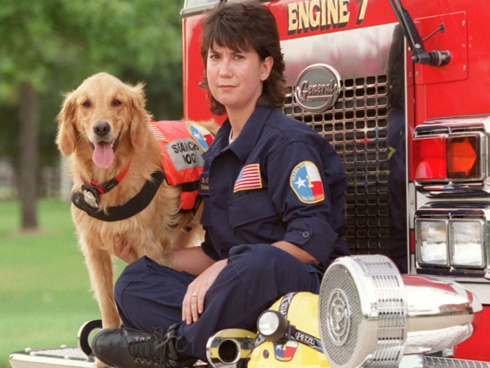 Bretagne y Denise en 2002