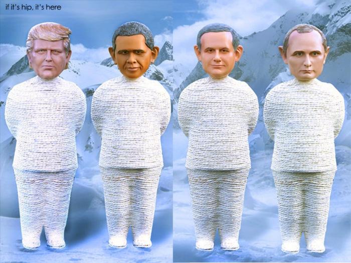 Rascadores raros originales presidentes