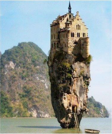 Castillo en una roca Irlanda