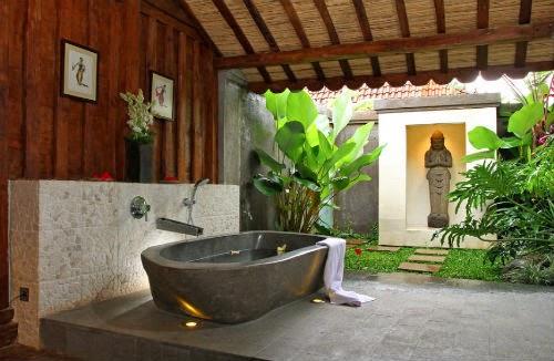 baera exterior estilo zen fuente