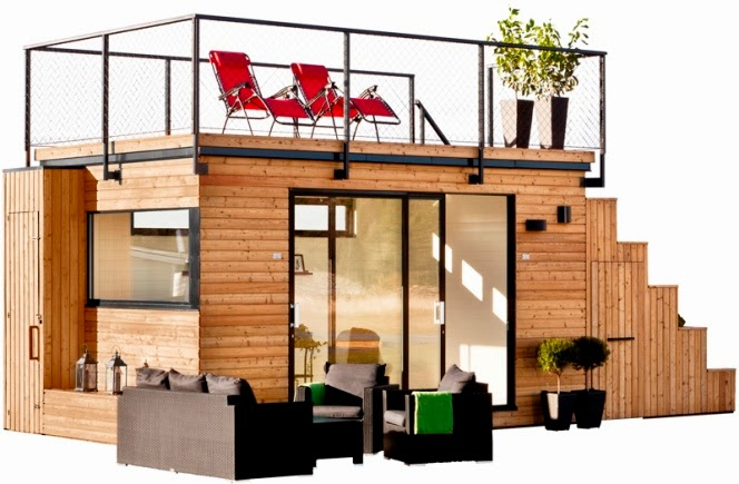 Mini casa  prefabricada de diseño