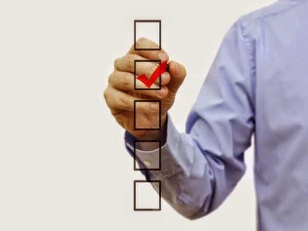Listado de imprescindibles y opcionales