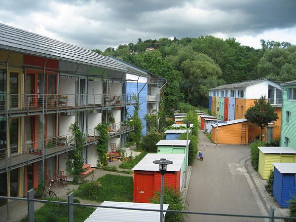 Ecobarrio Vauban en Freibourg, Alemania