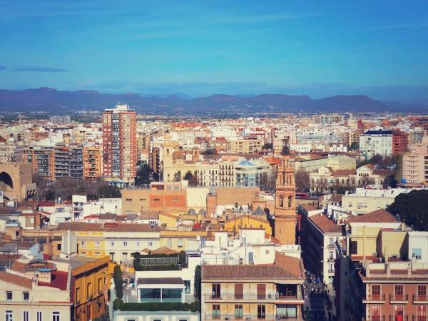 Ciudad de Valencia, España.