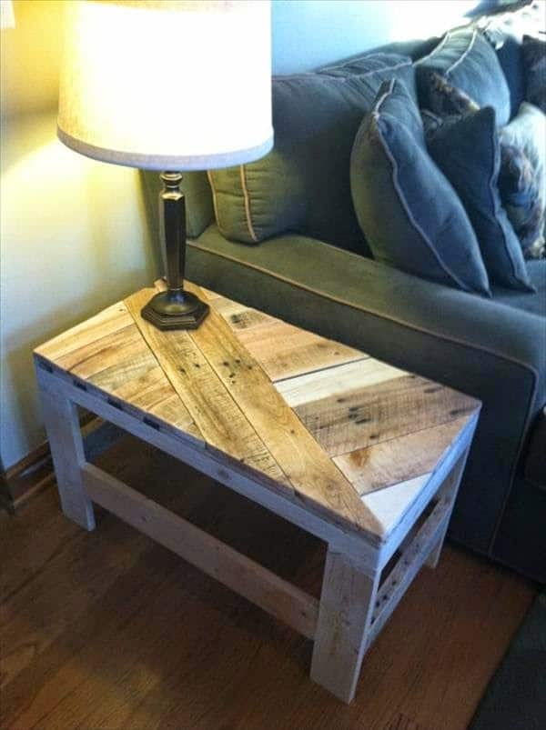 Piezas inspiradoras de mobiliario reciclado hecho con Pallets ...
