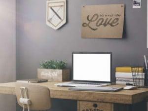 Cómo crear un lugar de trabajo dentro de casa
