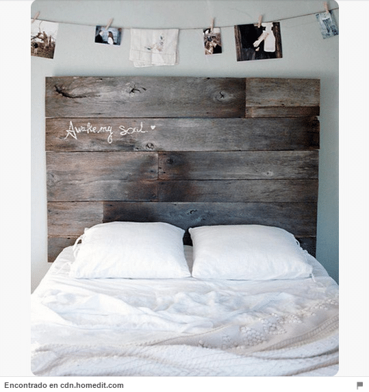 34 ideas de cabeceros de cama originales que puedes hacer t mismo diy trucos de bricolaje - Como Hacer Un Cabecero De Madera