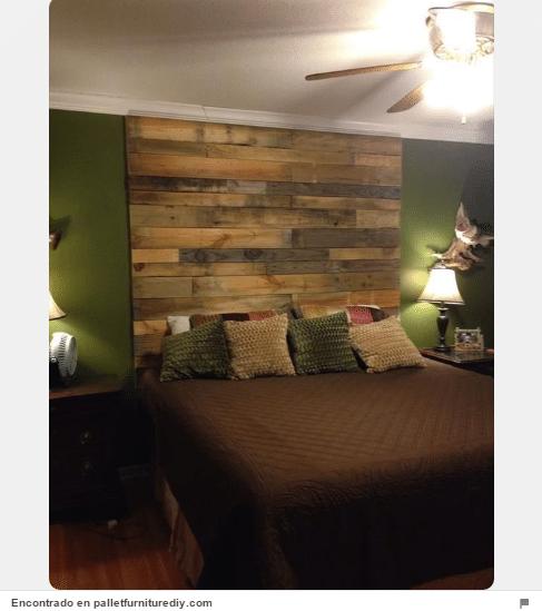 34 ideas de cabeceros de cama originales que puedes hacer - Trucos decoracion hogar ...