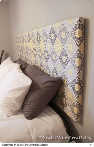 34 ideas de cabeceros de cama originales que puedes hacer tú mismo ...