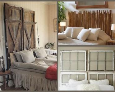 34 ideas de cabeceros de cama originales que puedes hacer tú mismo