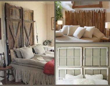 34 ideas de cabeceros de cama originales que puedes hacer tú mismo (DIY)