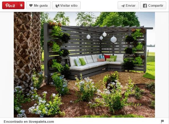 18 Ideas para decorar espacios exteriores con palets Trucos de
