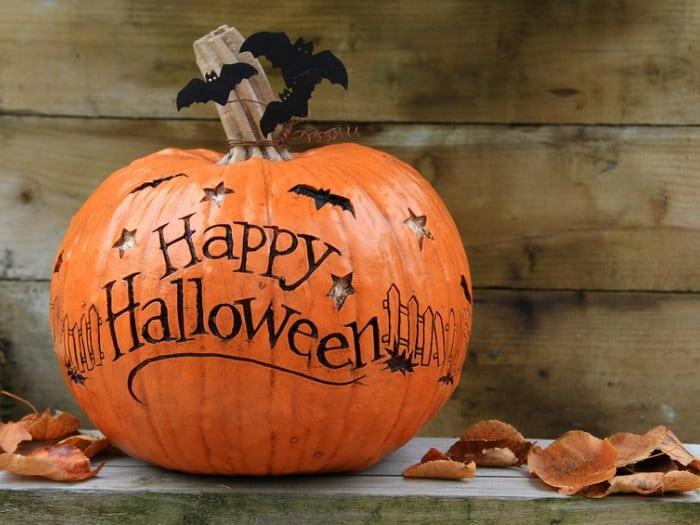 como decorar calabaza para halloween dedicatoria