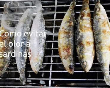 Cómo evitar el olor de sardinas
