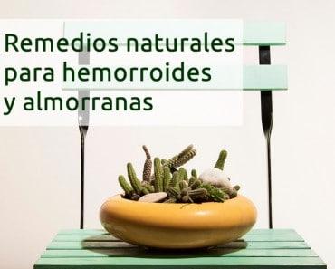 Remedios para hemorroides y almorranas