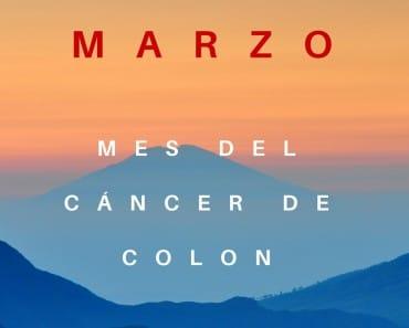 Marzo es el mes del cáncer de colon