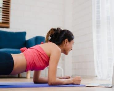 Deporte en casa para: 5 ejercicios fáciles para empezar