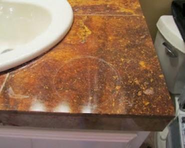 Cómo limpiar las manchas en el mármol