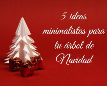 5 ideas de árboles de Navidad de diseño minimalista