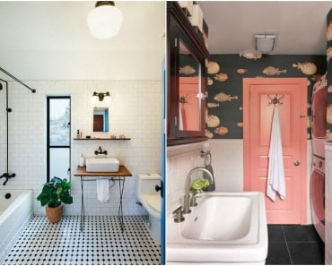 15 ideas originales para decorar paredes de baños