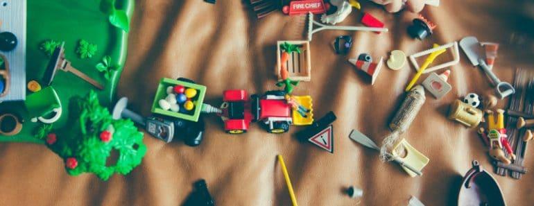 Organizar cuartos de niños