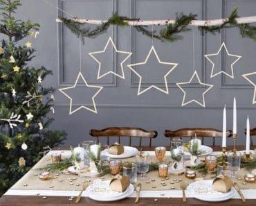 Ideas originales para decorar mesa de Navidad