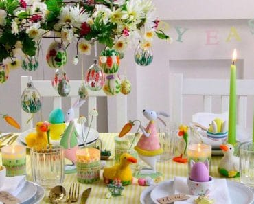 Cómo decorar la mesa para Pascua