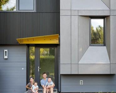 Una casa moderna familiar, compatibilizar lujo con sontenibilidad
