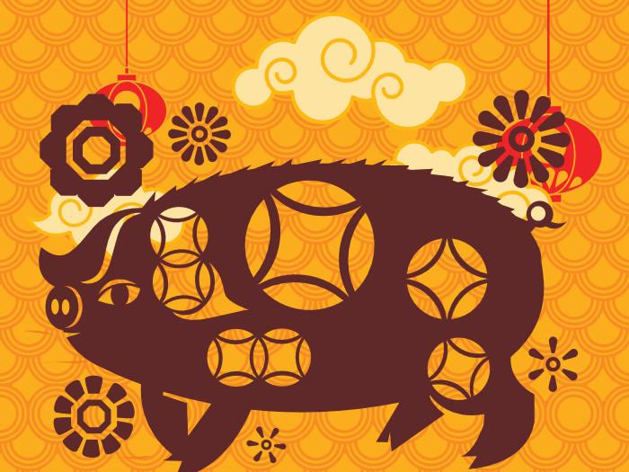 Los Elementos Del Cerdo O Jabalí Según El Horóscopo Chino