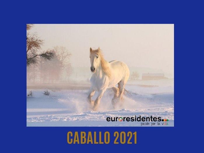 Caballo 2021 Horóscopo Chino
