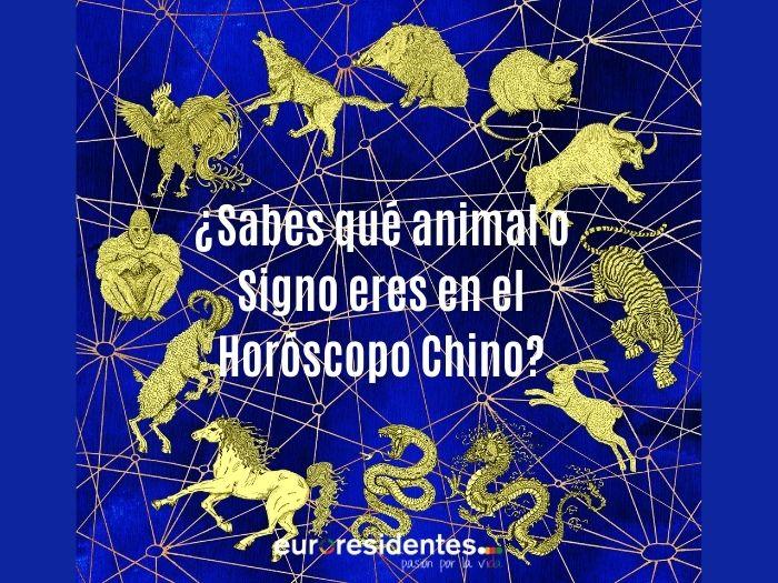 Cómo calcular tu animal en el Horóscopo Chino